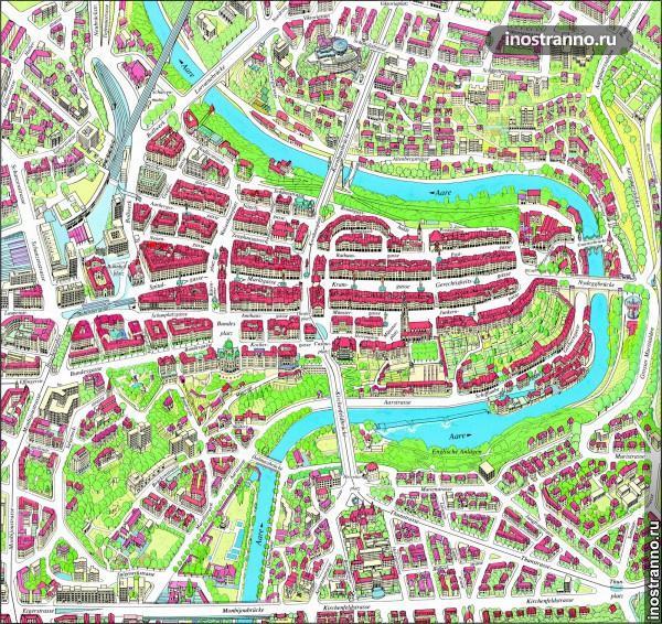 карта берна