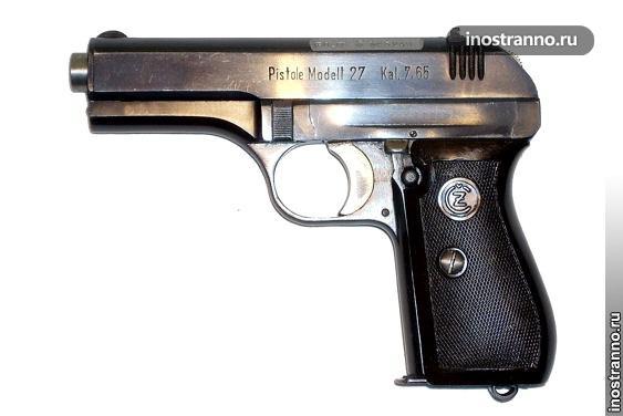 Чешский пистолет CZ27
