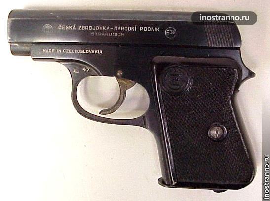 Пистолет из Чехии CZ45