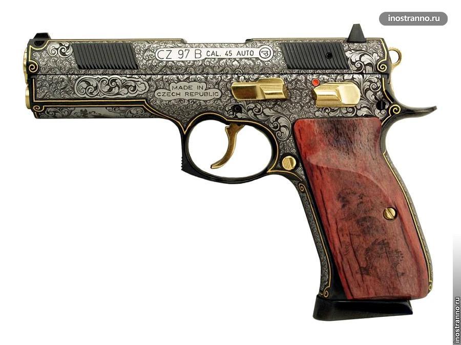 Дорогой чешский пистолет