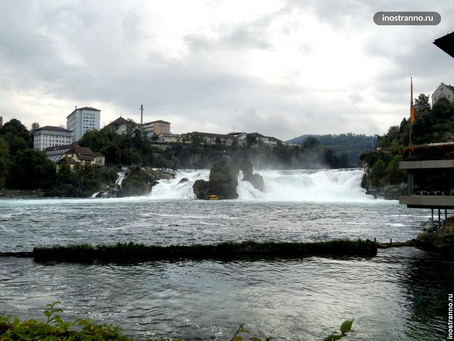 Рейнский водопад - Швейцария