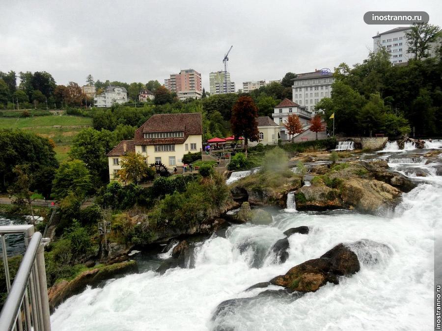Шаффхаузен и Рейнский водопад