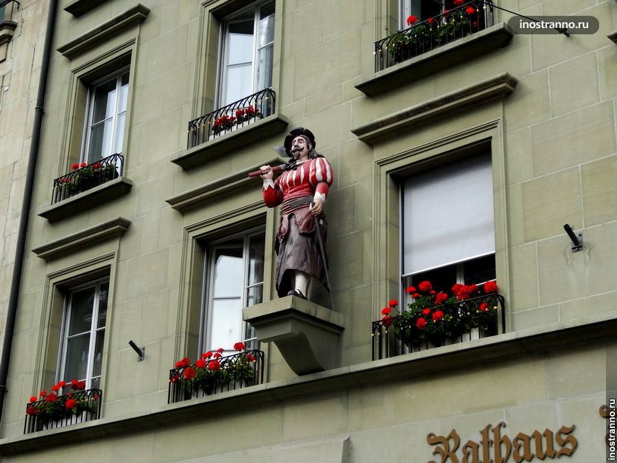 скульптуры швейцарии