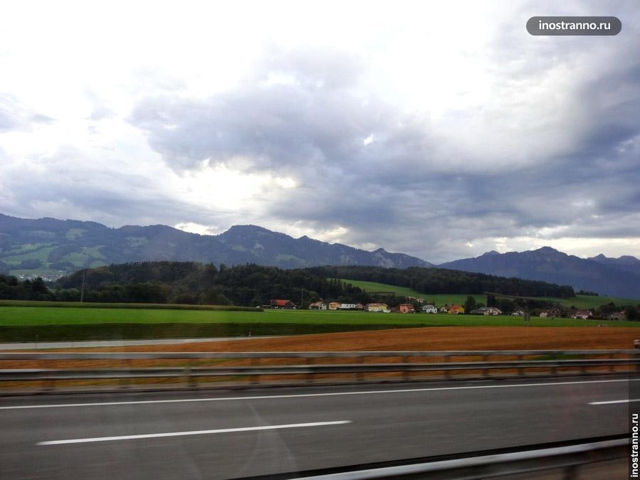 Дороги в Швейцарии