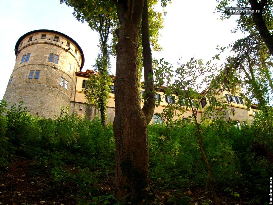 замок хоэнтюбинген
