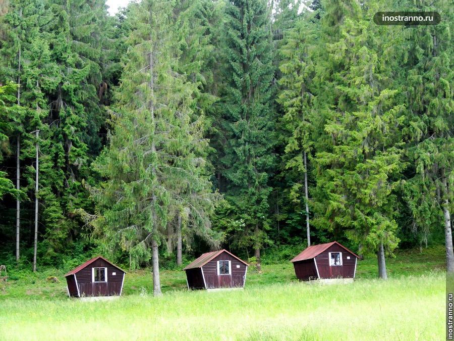 домики в словацком рае