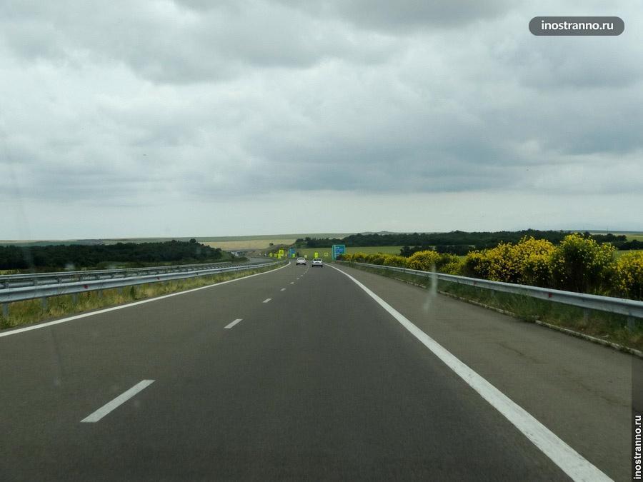 Автомагистраль в Болгарии