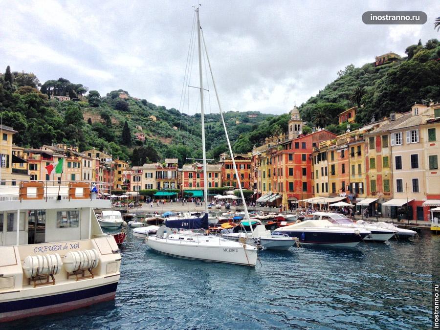 Портофино Италия достопримечательности и история