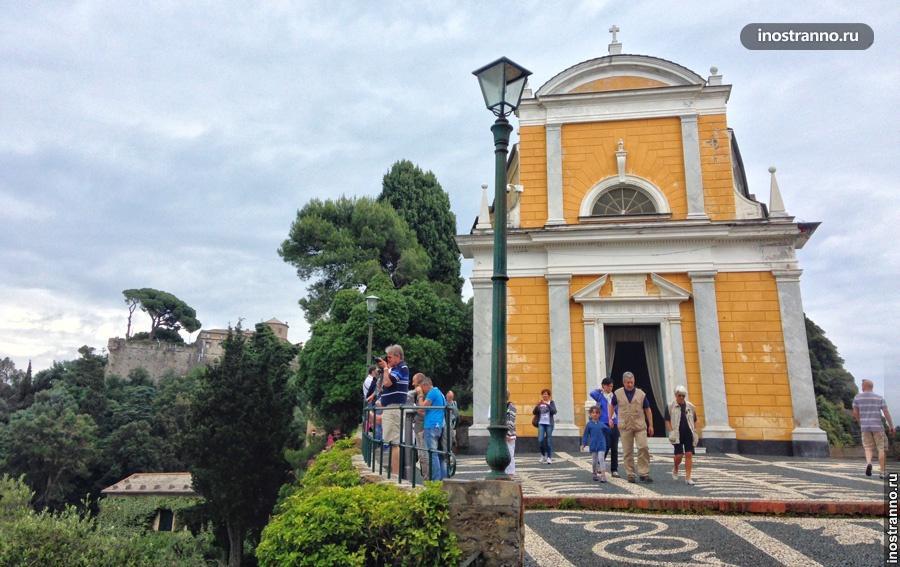 церковь сан джорджо портофино