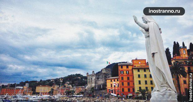Прогулка по Лигурии (Италия): Санта-Маргерита-Лигуре