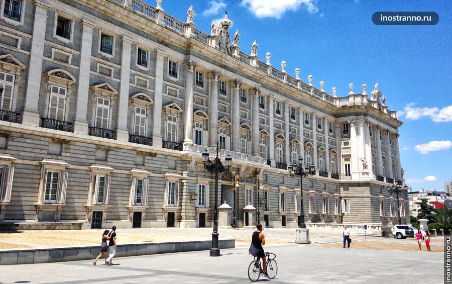 королевский дворец мадрид