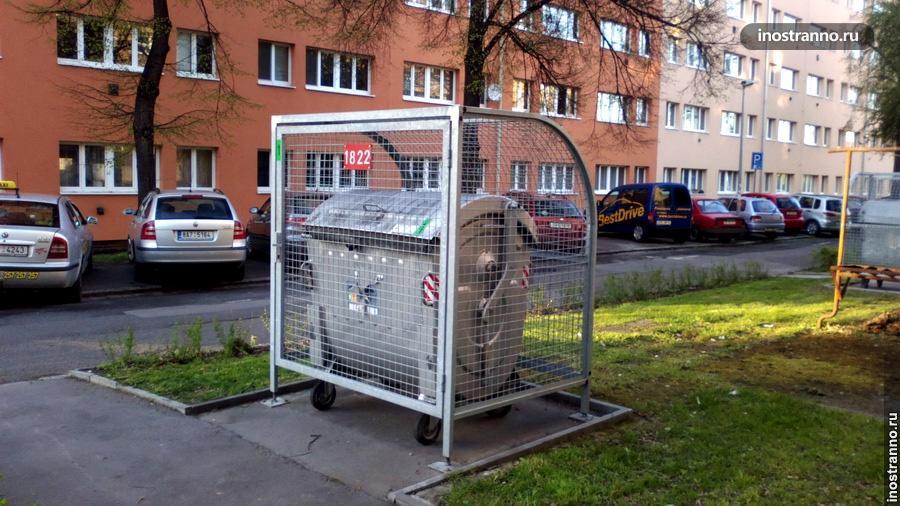 Смешанный мусор в Чехии