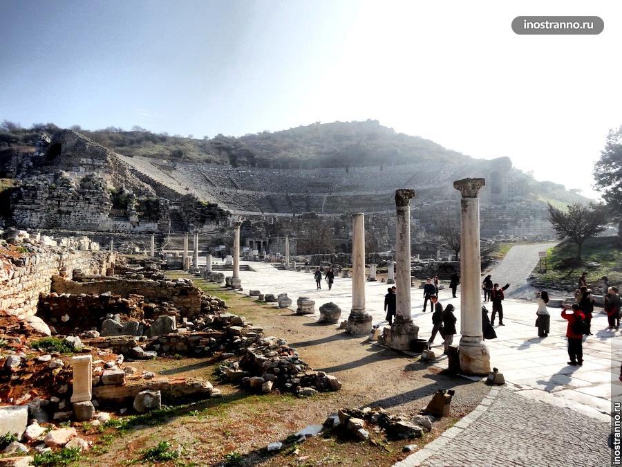 большой театр в эфесе