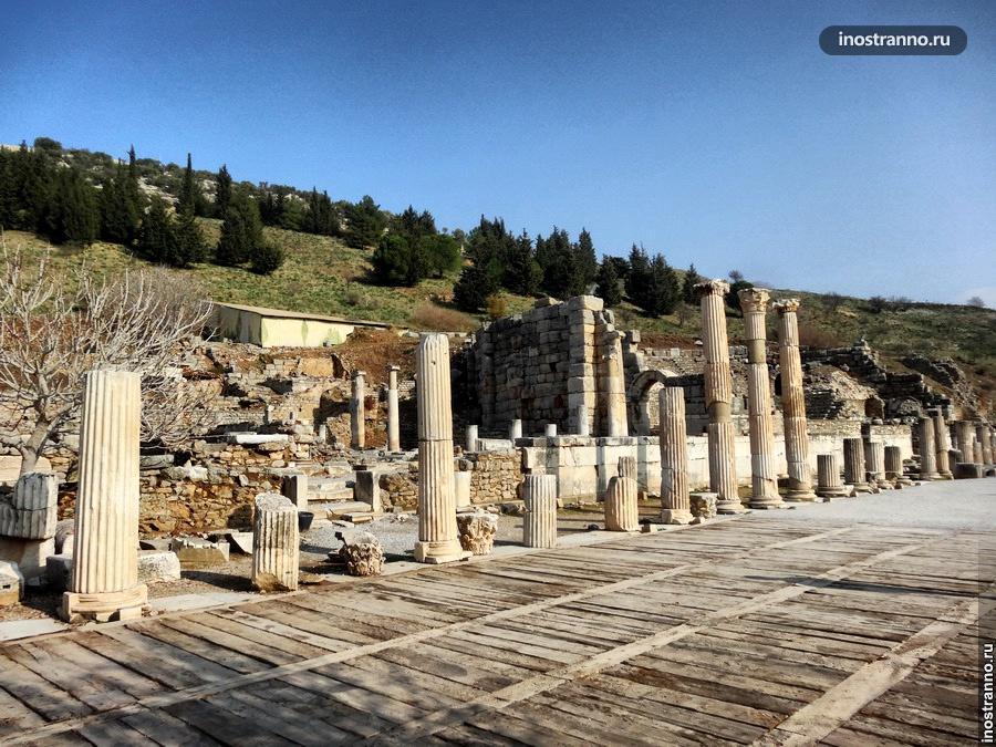 руины города эфес