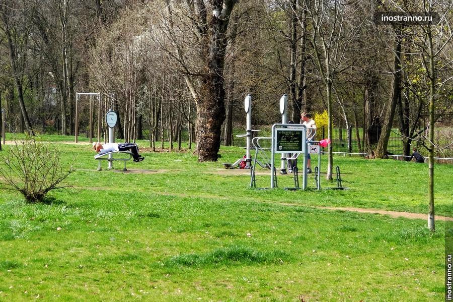 дворовый спорт в Чехии
