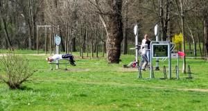 Площадки для занятия спортом в Праге