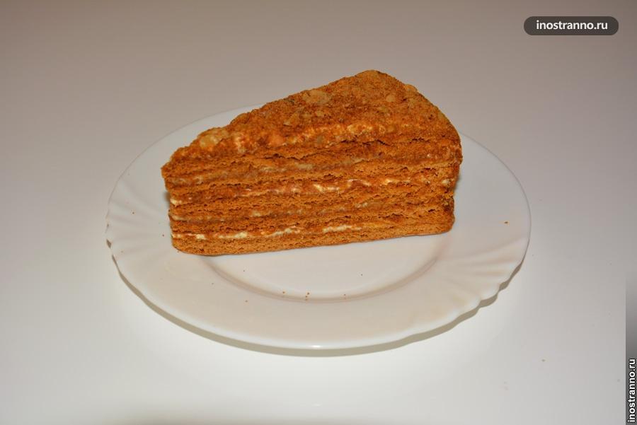 медовый торт в чехии