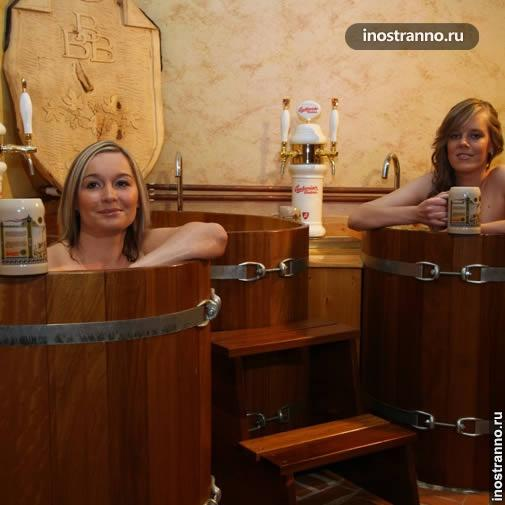 Пивные ванны в Праге