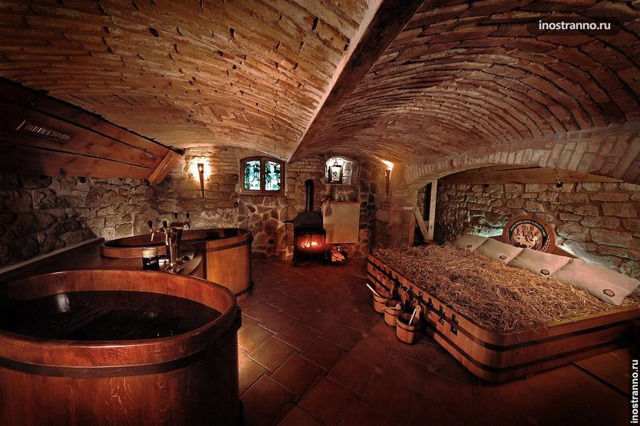 Пивные ванны в Карловых Варах
