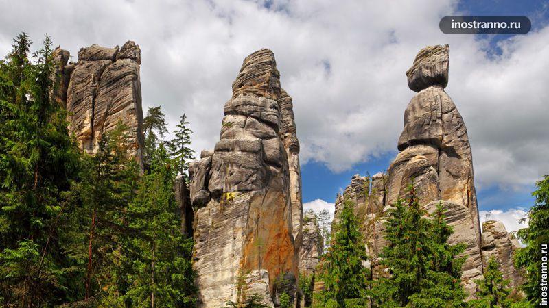 скалы ардшпах в чехии