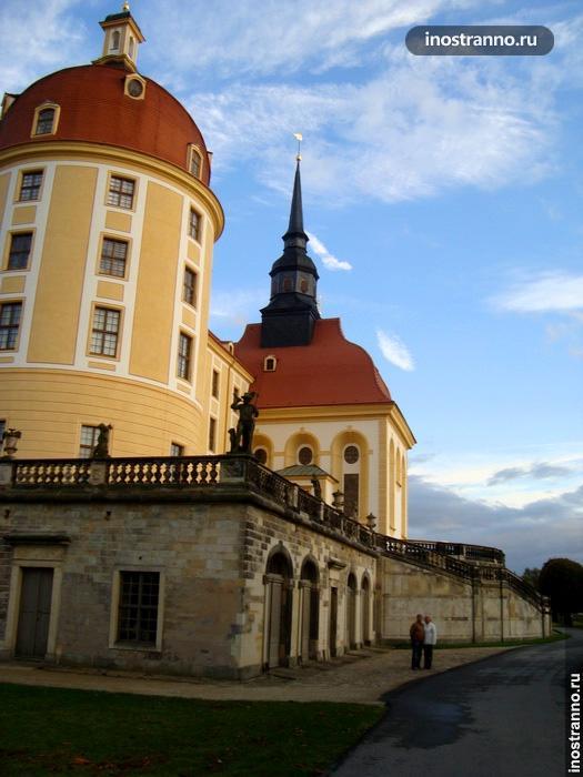 замок морицбург германия