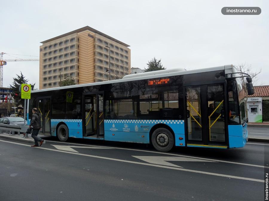 автобус в стамбуле
