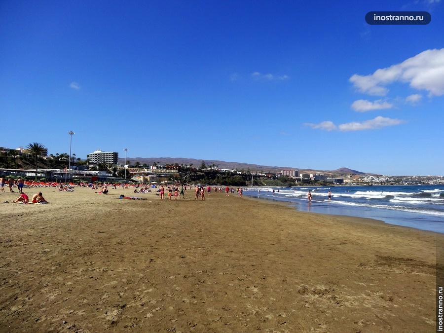 Пляжный отдых - лучшие пляжи на канарах