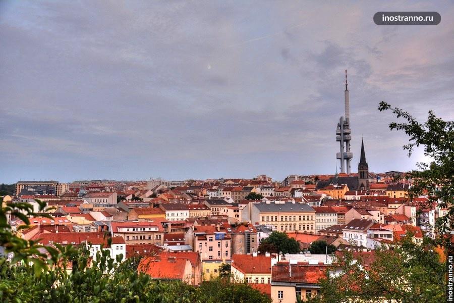 Район Жижков в Праге