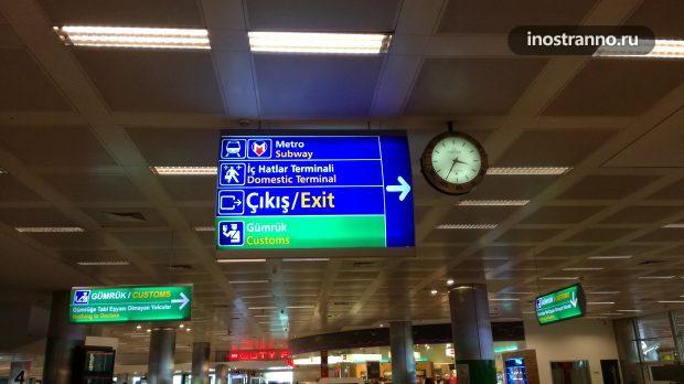 Аэропорт Ататюрк в Стамбуле