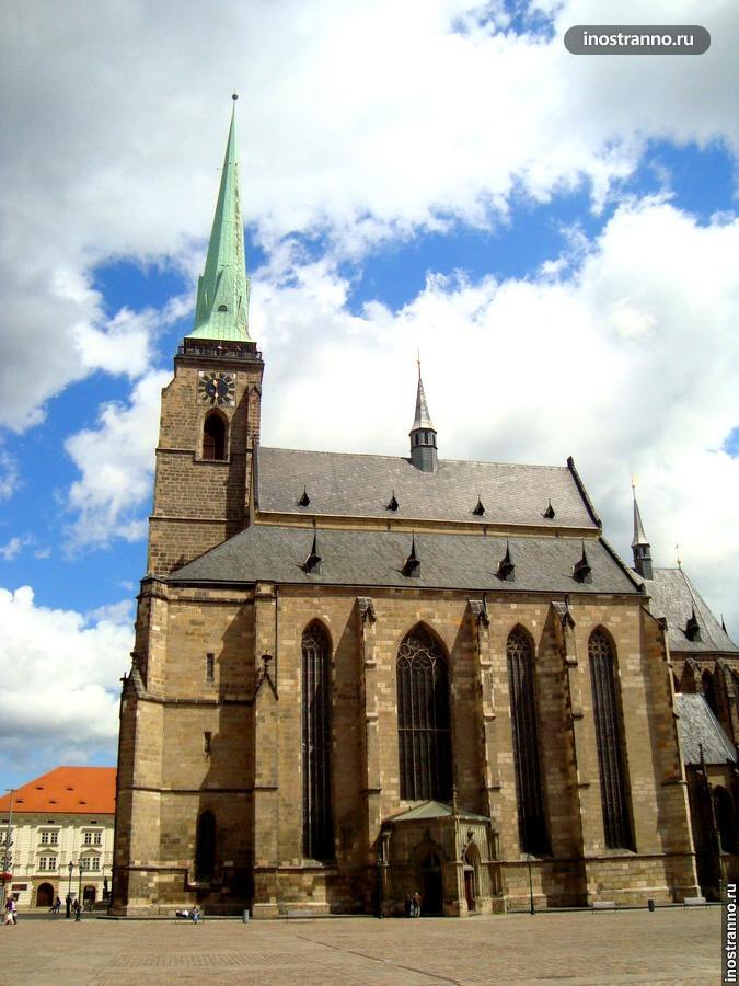 собор святого варфоломея в пльзене