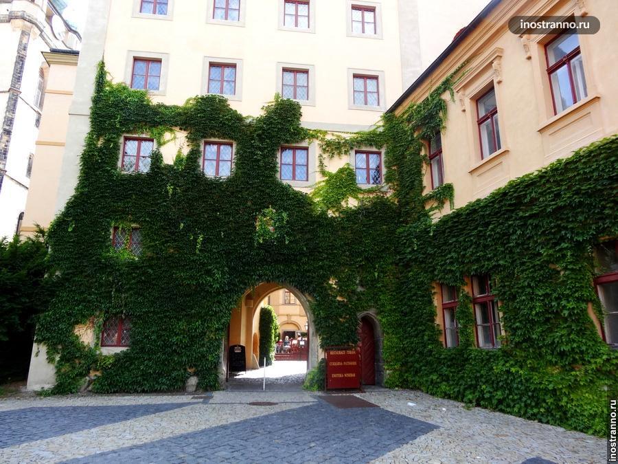 Замок в Мельнике Чехия