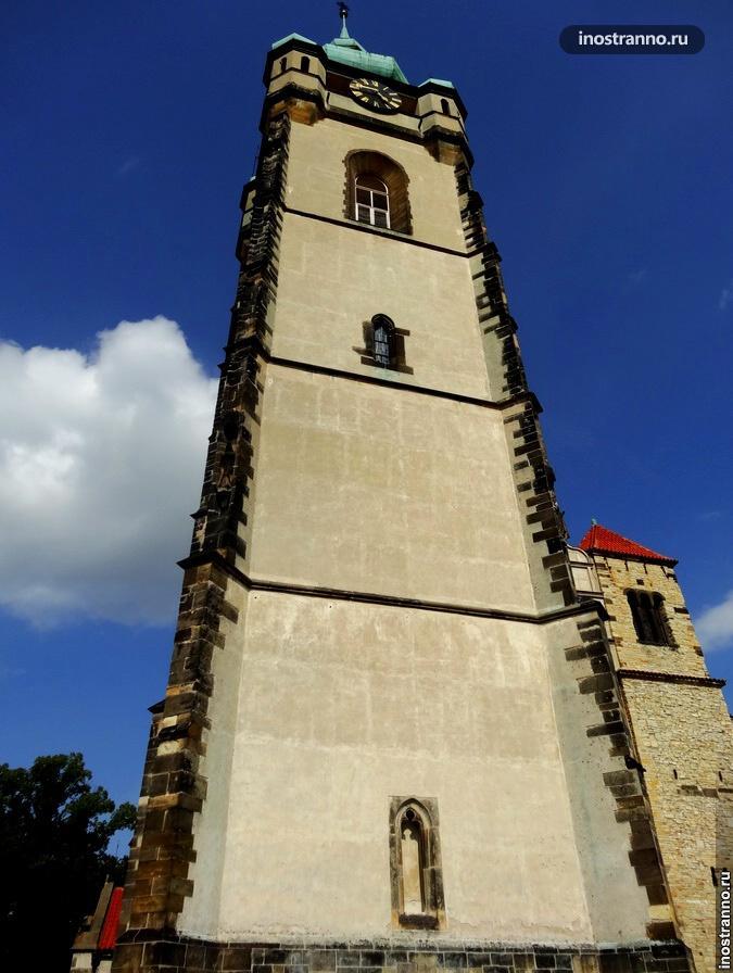 собор в мельнике чехия