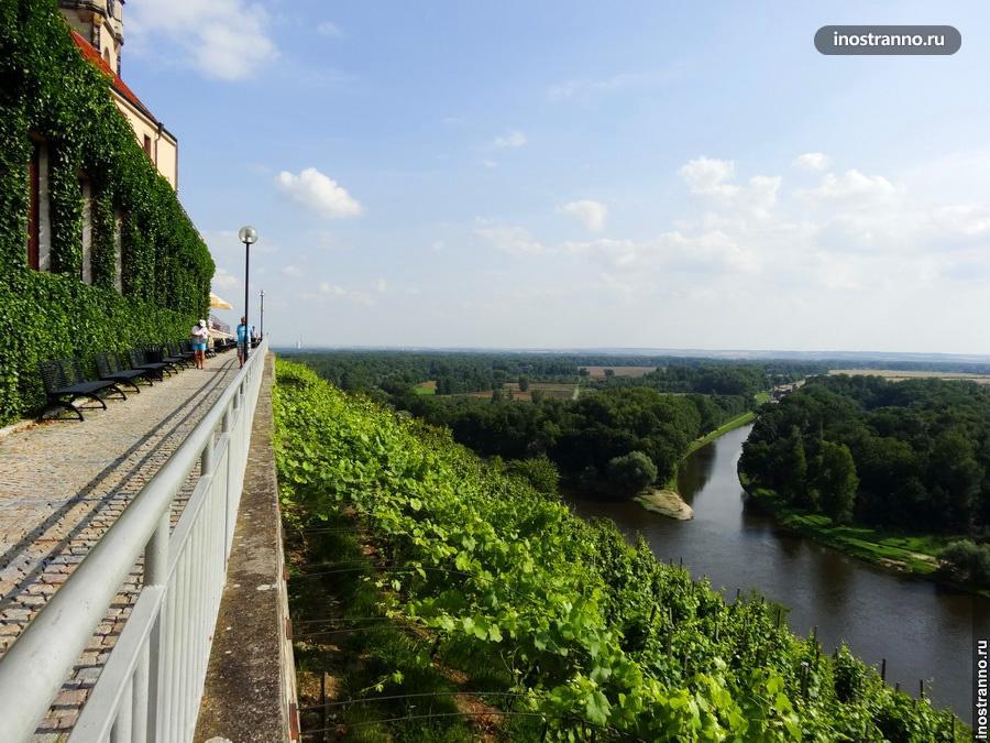 Город Мельник в Чехии