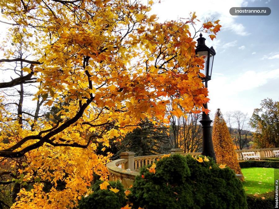 Чехия осенью - замок Конопиште