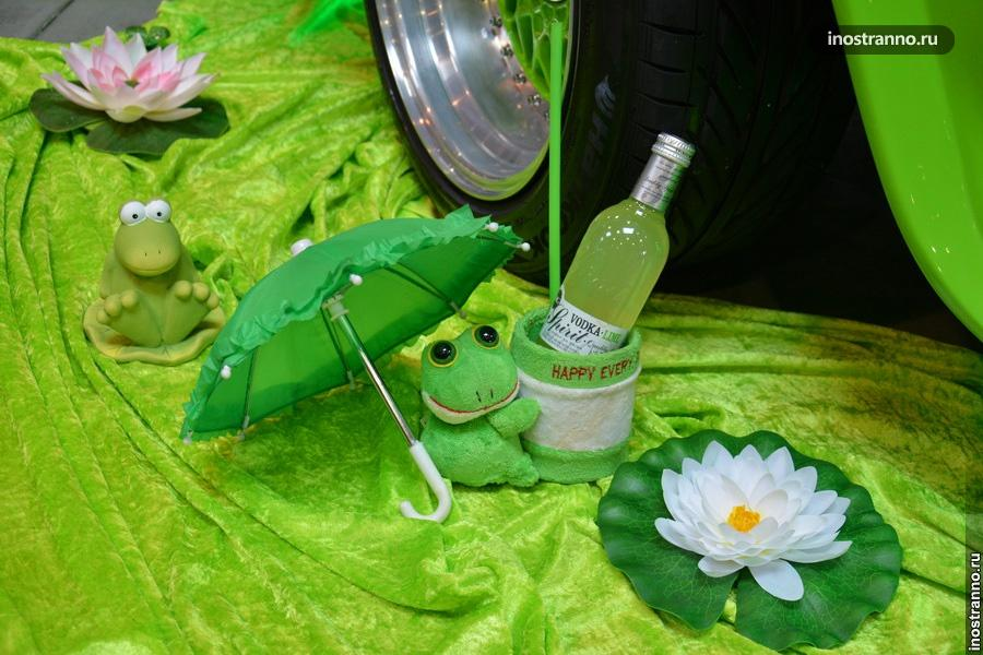 Тюнинг машины с игрушкой