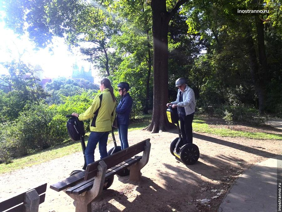 Экскурсия на сегвее в Праге