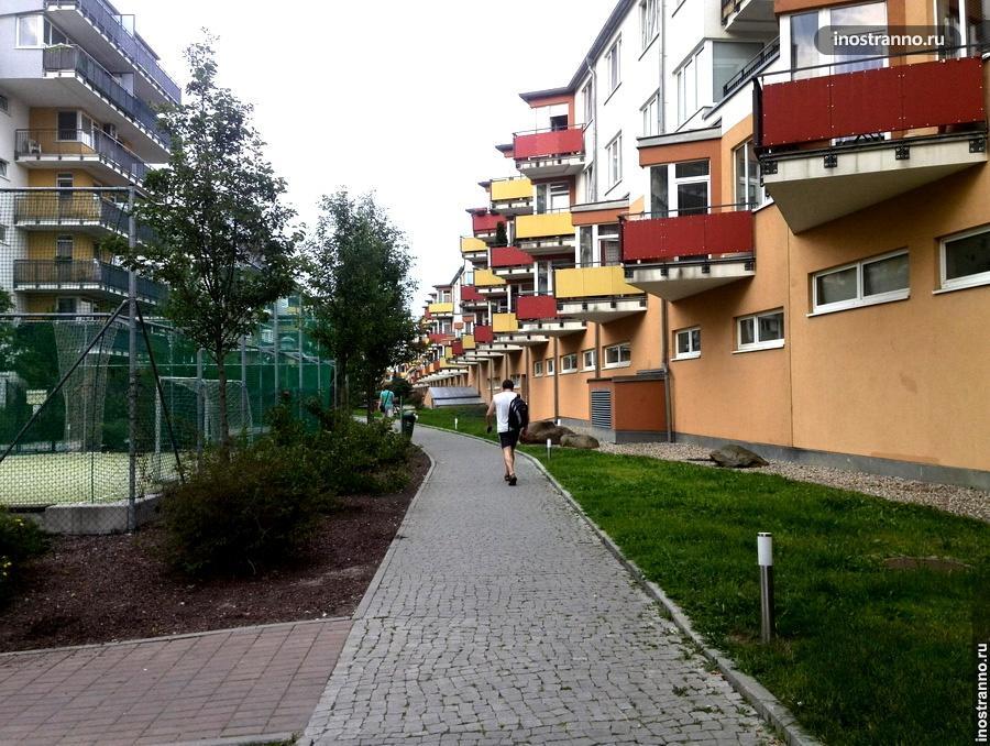 Спортивная площадка в Праге