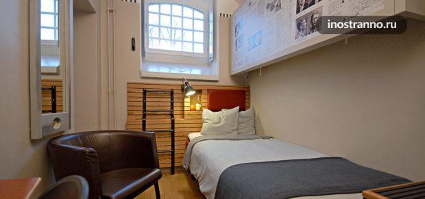 Отель в тюрьме в Швеции