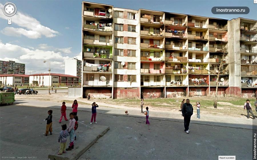 цыганский район в кошице