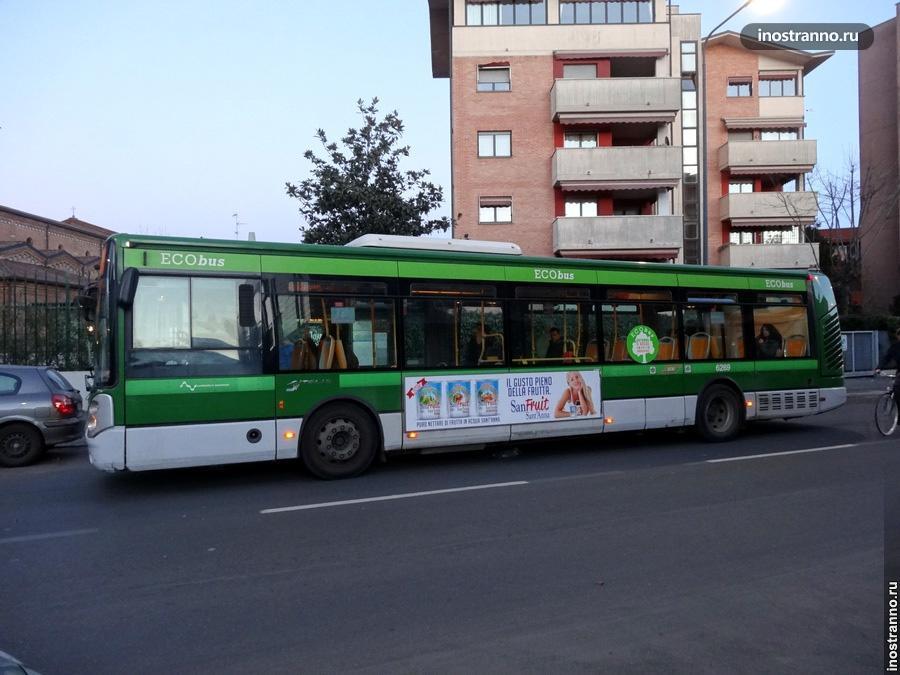 Автобусы в Милане