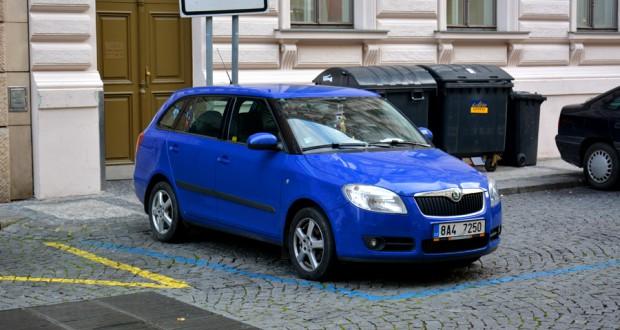 Правила парковки в Праге и в Чехии
