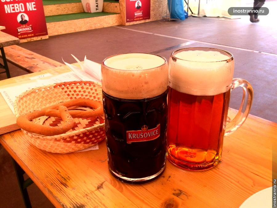 Вкусное чешское пиво