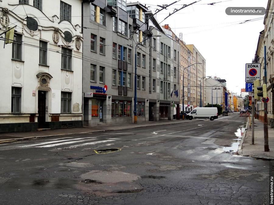 Улица в Братиславе