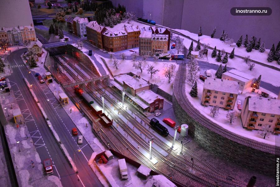 Музей железных дорог в Праге интересный детям