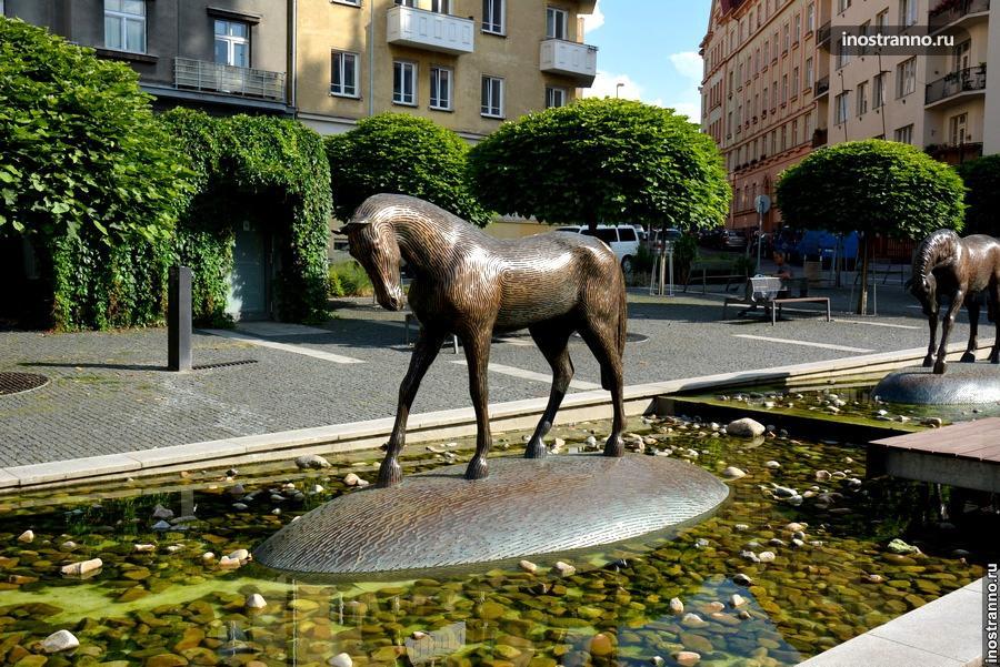 Фонтан Лошадь