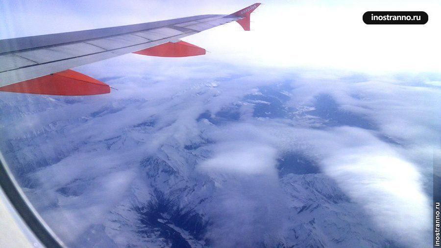 Фото крыла самолета