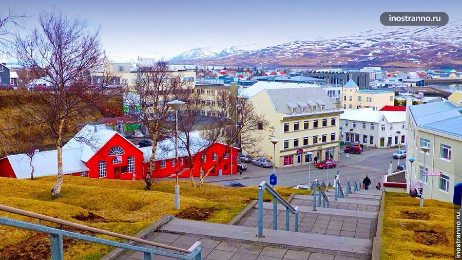 Акюрейри, Исландия