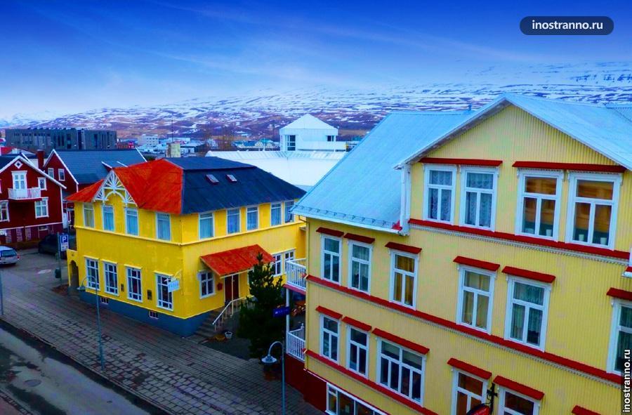 Акюрейри в Исландии