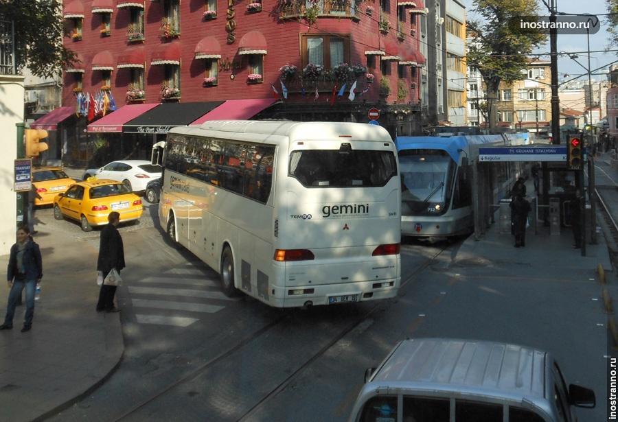 Автобус в Анталии