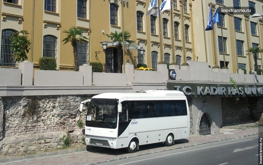 Микроавтобус в Анталии